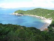 Praia da Tainha, foto tirada do Mirante
