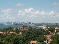 Vista de Olinda e Recife