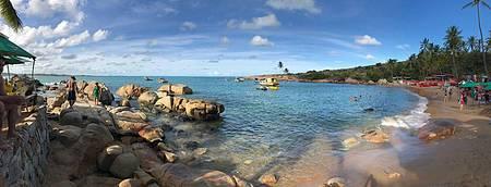 Calhetas - Praia é puro encanto