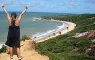 Praia de Coqueirinho e eu