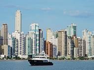 Vista panorâmica de Balneário Camboriú, SC