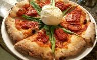 Burrata de Puglia, rúcula e tomate seco - combinação imbatível!