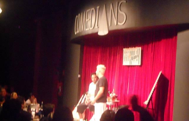 Comedians é diversão garantida!