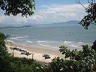Praia do Forte vista do alto do Forte de São José
