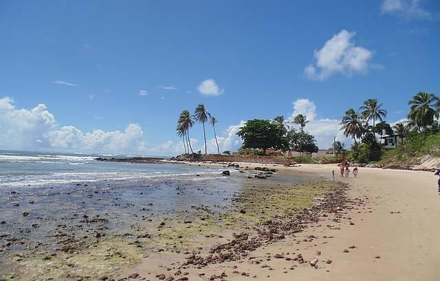 Praia em Genipabú