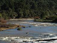Vista do rio Jordão em Guarapuava