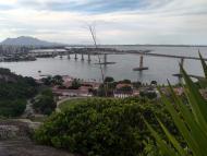 ponte vista do Convento da Penha em Vila Velha