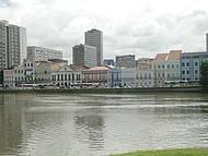 Rio Capibaribe e Rua da Aurora