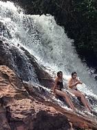 Curtir as cachoeiras de Presidente Figueiredo