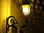 Tradicional Lampião da cidade de Lençóis