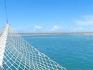 Vista de recife de fora