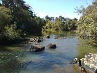 Sossego à beira rio