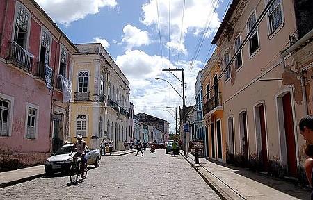 Centro Histórico - Cidadezinha é repleta de sobrados