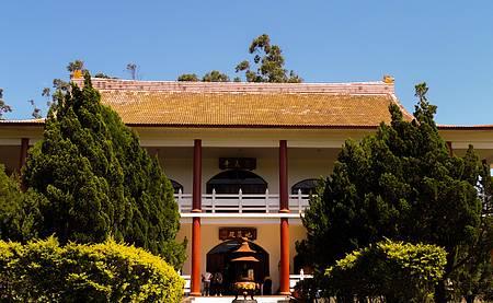 Area externa do templo