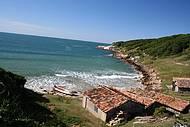 R�stica e selvagem, praia do Rosa � o novo point catarinense