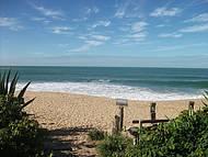 Praia vista do Restaurante Recanto da Sereia