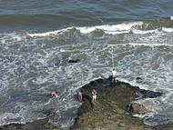 Pesca de carretilha Jeferson Coiro