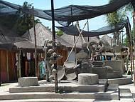 Na aldeia Pataxó em Coroa Vermelha