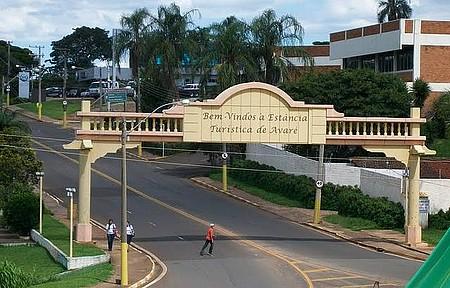 Portal de entrada da Cidade de Avaré - Vale a pena o passeio.
