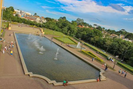 Parque Tanguá - A vista do alto e mais bonita