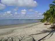 Praia tranquila...