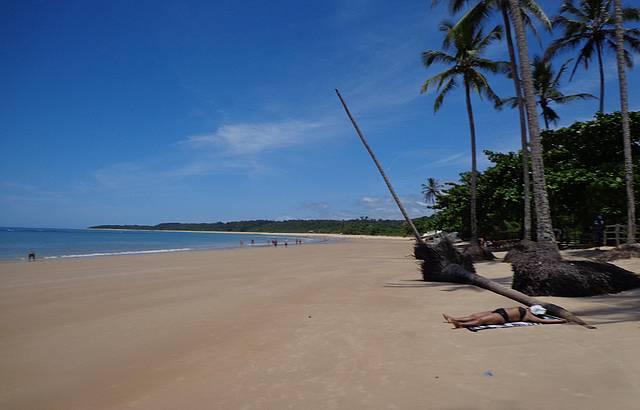 Praia dos coqueiros, Trancoso.