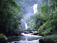 Curtir as cachoeiras