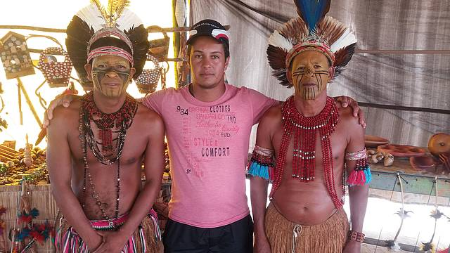 Visita aos indios