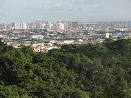 Vista de Aracaju, a partir do Teleférico no Parque da Cidade