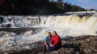Cachoeira dos Venâncios: fácil acesso às quatro quedas, todas em sequência