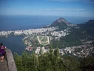 Vista do Corcovado. O Rio de Janeiro é lindo!