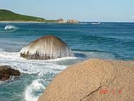 Caminho da praia Mole para Galhetas