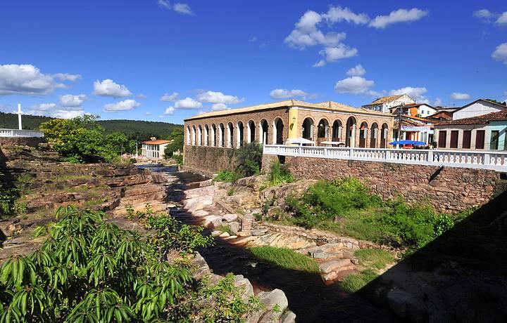 Cidadezinha preserva arquitetura e traços de época