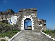 Entrada do Forte do Pico