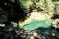 Nadar no Poço Azul