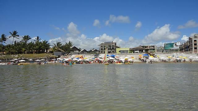 Praia muito tranquila ideal para fam�lia.