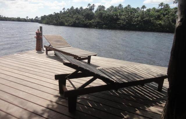 Deck Às Margens do Rio Preguiças