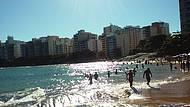 Final de tarde na praia