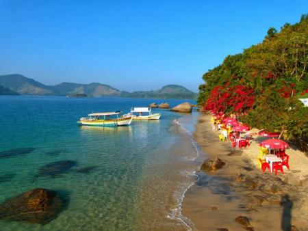 Ilha do Cedro - Cenário paradisíaco!
