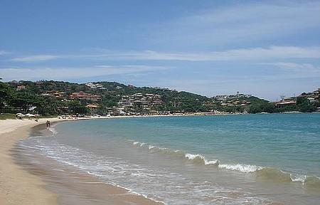Perfeita praia da Ferradura