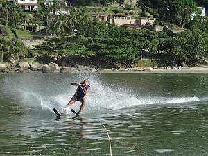 Ibicuí: Águas calmas são perfeitas para esportes náuticos<br>