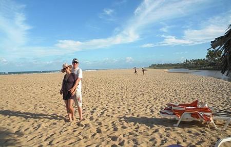Praia de Santo Antônio - Muito bonito e mar agitado