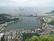 Foto tirada do Corcovado