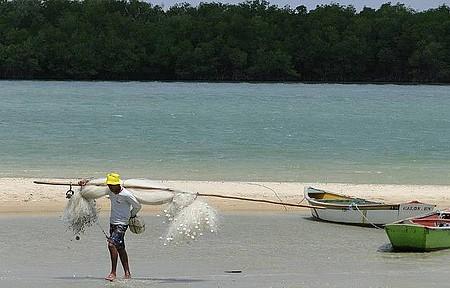Rio Aratuá Galinhos - Passeio de canoa pelo manguezal