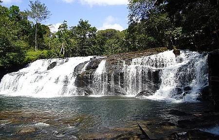 Cachoeira de Tijuípe - Quedas formam piscina perfeita para banho