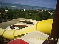 Toboagua do Eco Park de Frente para uma Maravilhosa Praia