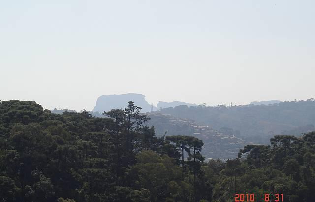 Parte mais alta do passeio (Pedra do Ba� ao fundo)