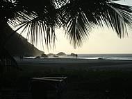 Pôr do sol na praia da Conceição