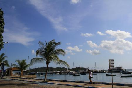 Praia fica próxima ao Centro Histórico