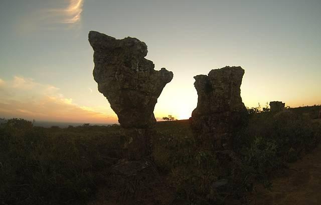 Por do Sol Na Cidade de Pedras!!